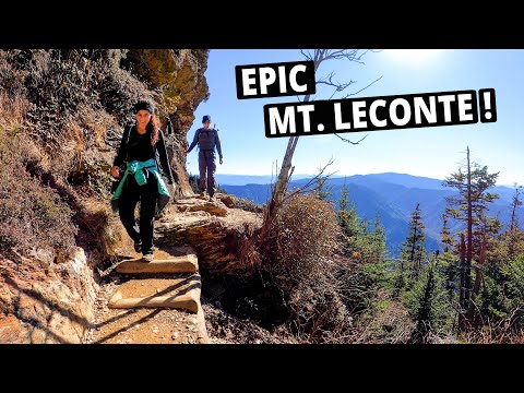 Our Favorite Smoky Mountains Hike! | Alum Cave Trail to Mount LeConte | SMNP