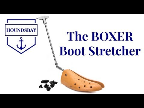 "How to Use the ""Boxer"" Boot Stretcher by HOUNDSBAY"