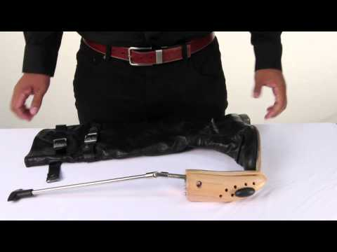 How to Use a Boot Stretcher