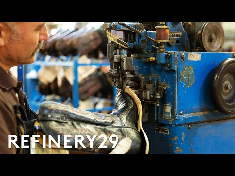 How $1,500 Cowboy Boots Are Made   How Stuff Is Made   Refinery29