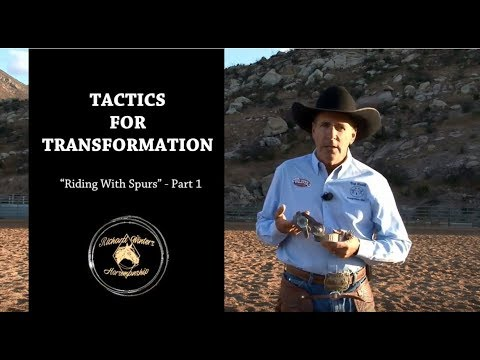 Riding with Spurs: Part 1 by Richard Winters & Weaver Leather