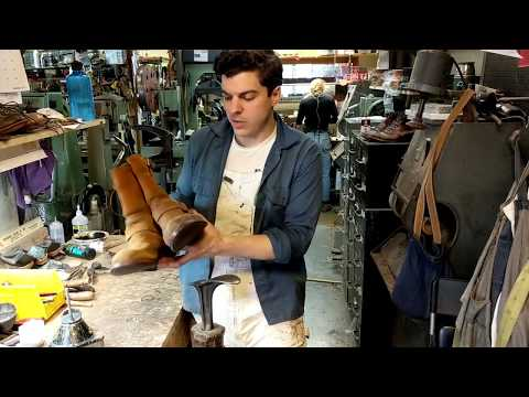 Red Wing Rough Out Engineer Boot Resole
