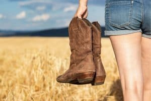 Should I go half a size up or down? That you should be based on the reviews from those who have bought cowboy boots that you intend to buy (If buying online) Depending on the different cowboy boots, experienced customers will tell you to go half a size up or down. If no one else bought it before, you should contact the seller, or just buy according to the size of your foot. Don't worry, fashion brands all have return and exchange policies if your boots don't fit you.