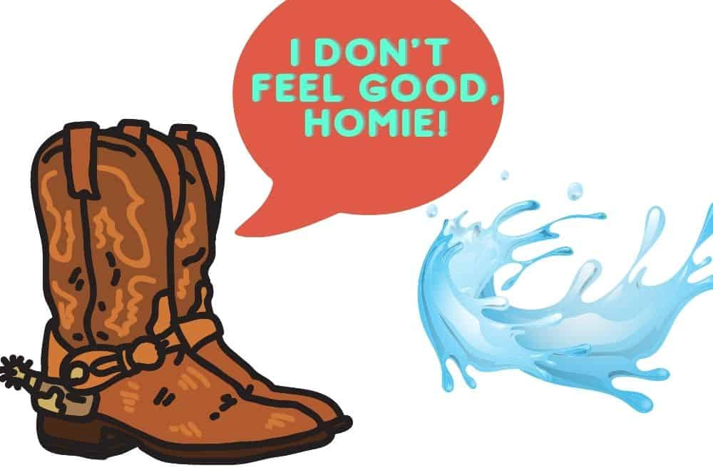 Are Cowboy Boots Waterproof