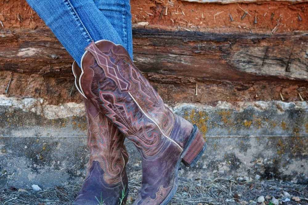 How to Wear Cowboy Boots in the Winter