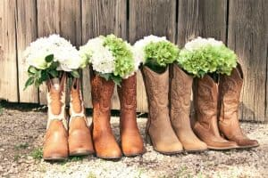 "To answer this question, you need to have a fair comparison. At the beginning of this article, we said that cowboy boots are expensive in the beginning, why? In the long run, you need to compare a $200 cowboy boots that can be used for 10 years and a $70 sneaker that can only be used for 1 year. Cowboy boots need to be repaired (ex. resole) every 2 years, each replacement costs around $70. So, in 10 years you will spend $200 (money to buy original cowboy boots), we have: $70 * 5 (resole 5 times in 10 years) = $550 A pair of sneakers can be used continuously for 1 year, then you need 10 pairs of sneakers within 10 years, so you will spend $70 * 10 = $700 within 10 years (excluding the cost of repairing sneakers) To summarize, within 10 years, cowboy boots will cost you $55 / year while sneakers cost you $70 / year, which investment would be better? Of course all comparisons can be overwhelming and you may not completely agree with us. However, one thing we have to admit is that cowboy boots are not expensive in the long term. They even remain cheap when it comes to the long time of use. Today's cowboy boots with rubber outsoles can last up to 10 years with just one or two times resole. Cowboy boots are only expensive when you are ""addicted"" to them that every year you have to buy yourself a new pair… Another proof that you don't think cowboy boots are expensive is the feeling that cowboy boots bring you. After new cowboy boots are broken in (around a week if you wear them continuously), then for 9 years and 358 days you won't be able to find that great feeling in any other boots. . We may be crazy cowboy boots enthusiasts, but try it, you won't be disappointed!"