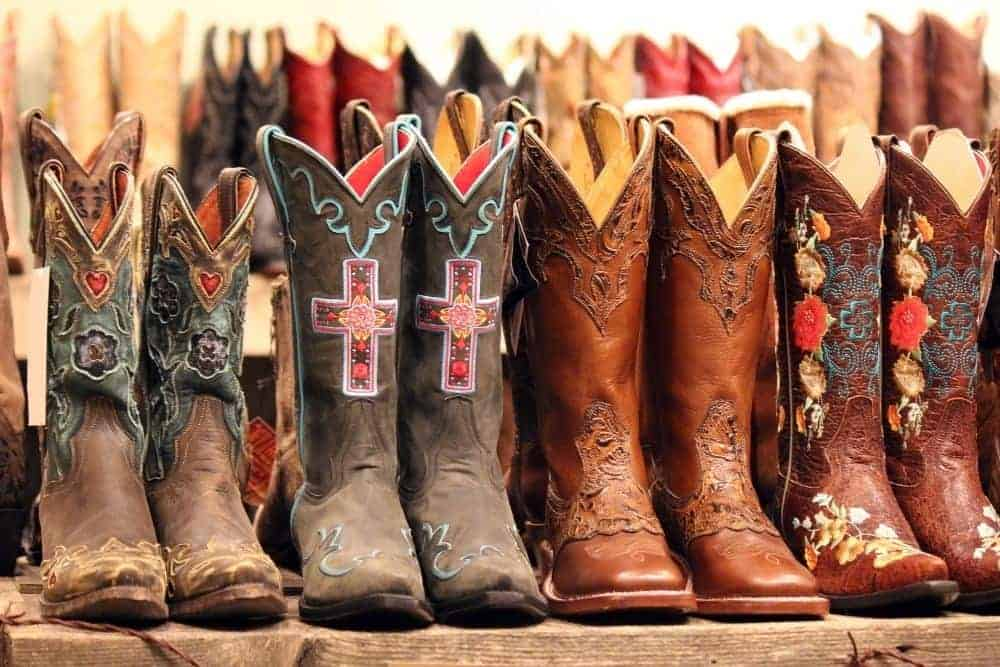 """How long do cowboy boots last? 10 years or… 2 weeks. There are many different types of cowboy boots in the world. The lifetime of cowboy boots will be determined by the quality of the cowboy boots and how they are used for your purpose. Cowboy boots can last more than 10 years if you buy a pair of good quality boots, use them for the right purpose and take good care of them. Use cowboy boots for the right purpose This means that if you are a heavy duty outdoor, farm, etc. person, you should use low-heeled, durable cowboy boots with rubber outsoles such as western work boots. If you are a lover of beauty and mettle of cowboy boots, you just enjoy sitting on horses or cars, staying in the office, then you can absolutely use beautiful boots with high heels (over 2″), those get soft and """"fragile"""" look. Otherwise, if you use too high heel cowboy boots to work on the farm where you need to stand on your feet too much, then these beautiful cowboy boots cannot last long as in the above situation. In this case, you need a sturdy boots rather than just lovely boots."""