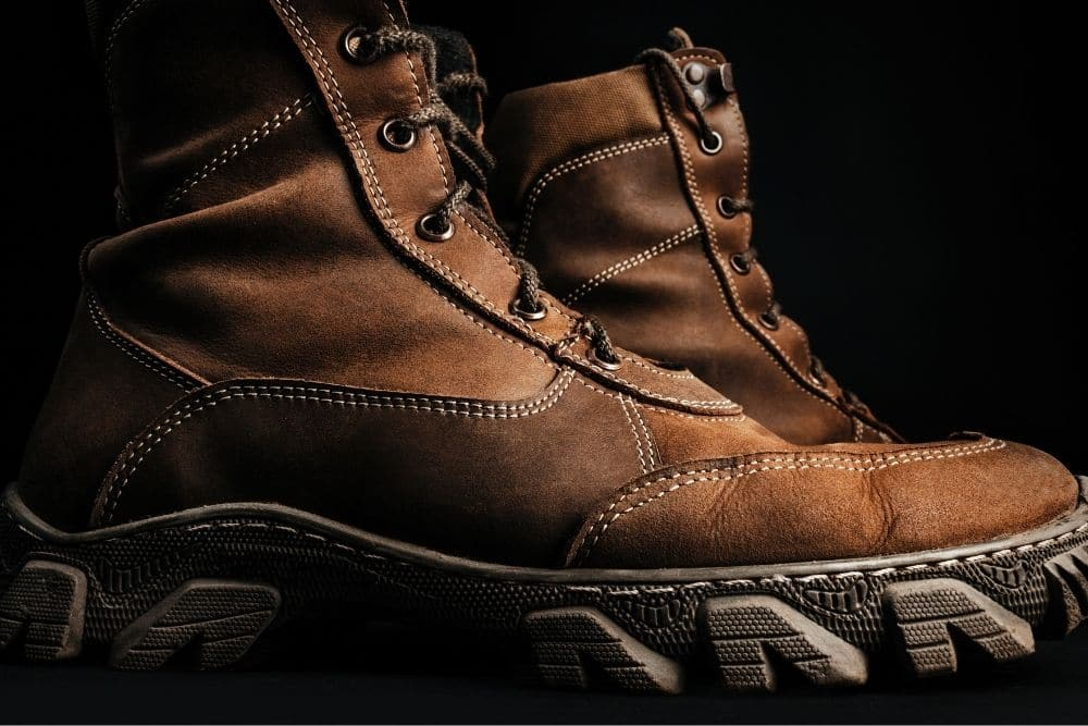"""Tactical Research boots are good and have a very credible name in the market for tactical boots. Thousands of adorable reviews regarding the Tactical Research boots are clear and vivid pieces of evidence that suggest that Tactical Research Boots are good. Tactical Research boots are made through machine methods and contain premium and high-quality material. Their comfort and durability are matchless. Through the above evaluation, we can see that the Tactical Research Boots has a structure that ensures very high protection and safety. It's undeniable that these two main factors make Tactical Research boots different from the rest. Evidently, their outsoles have good grip and are extremely durable with 100% rubber EXCLUSIVE VIBRAM """"TARSUS"""", rubber EXCLUSIVE VIBRAM """"IBEX"""", etc. This makes the Tactical Research boots able to traverse even the harshest terrain in the world. In addition, the Tactical Research boots midsole highly cushioned with excellent shock absorption and die-cut shock also provides perfect stability. So, apart from the basics that every normal good tactical boot should have, safety and protection are the two factors that make Tactical Research boots stand out among regular tactical boots. Though tactical research boots come with a higher price compared to regular tactical boots. Considering their advantages, you can see that their price is definitely not that expensive."""
