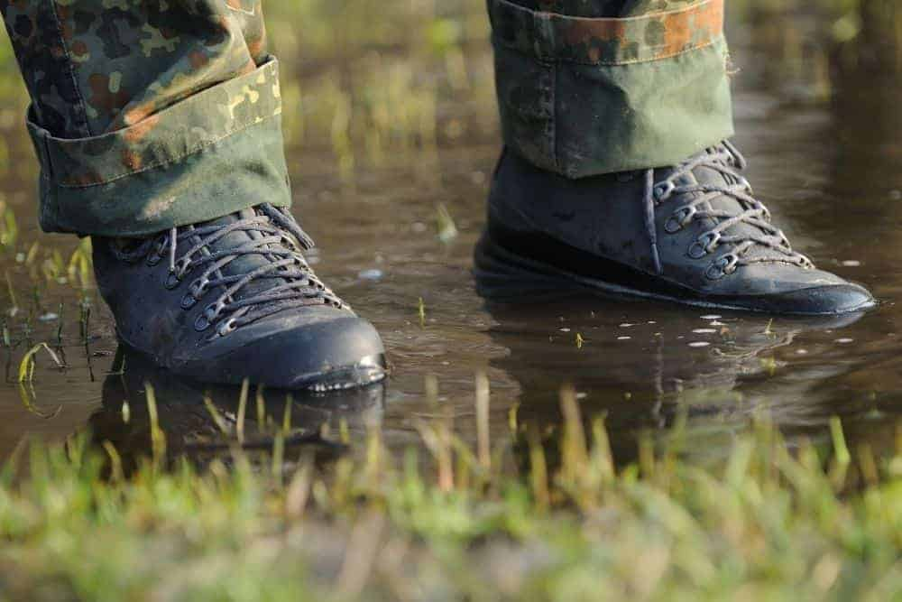 waterproof Merrell Moab tactical boots
