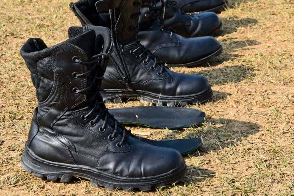 Tactical Boots with Side Zipper