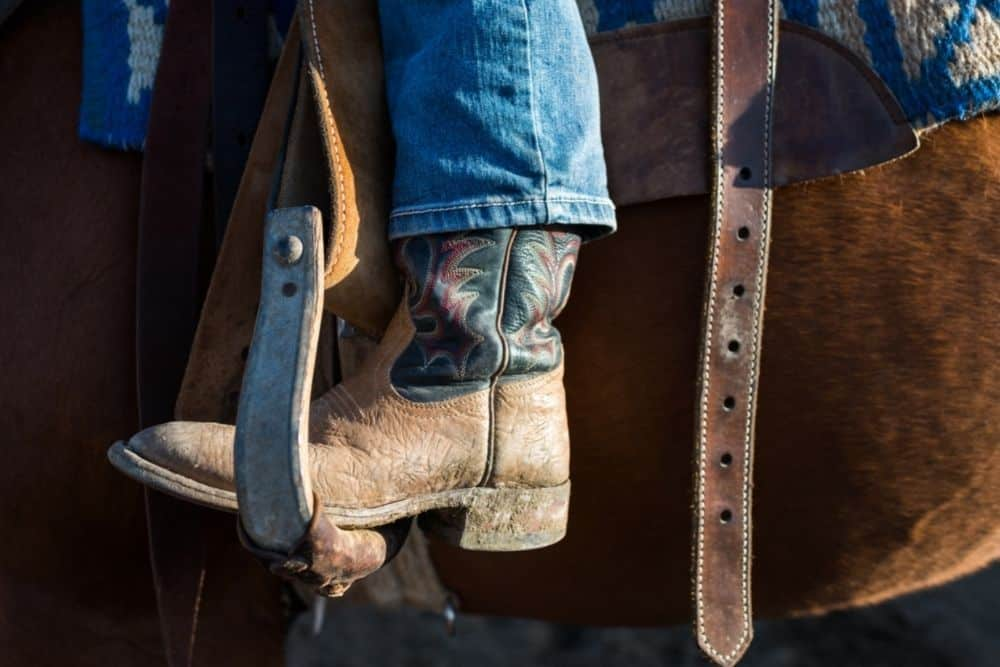 Why Do Cowboy Boots Have No Tread?