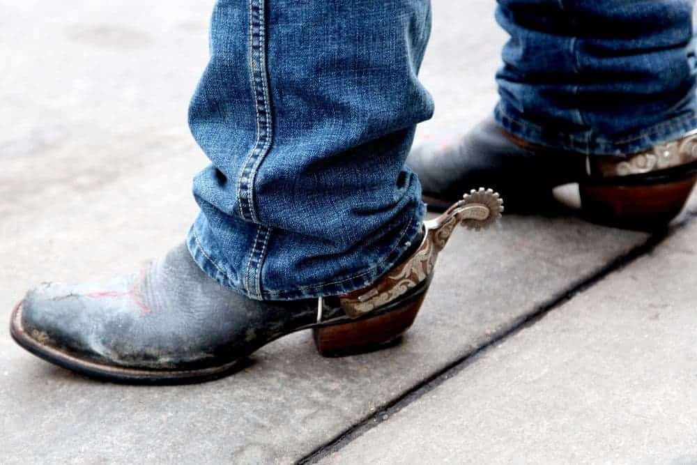 Do cowboy boots provide good ankle and arch support?