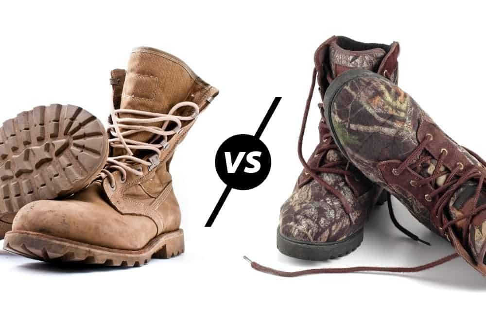 Tactical Boots vs Hunting Boots