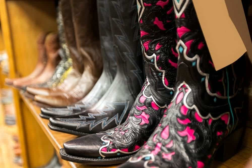 What is The Stitching on Cowboy Boots Called