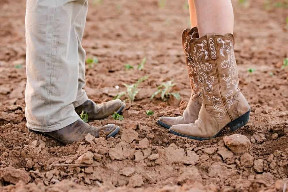 Are Cowboy Boots Good for Farm Work