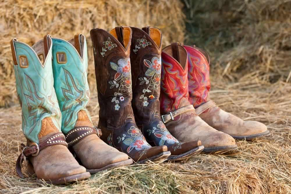 cowboy boots with different models