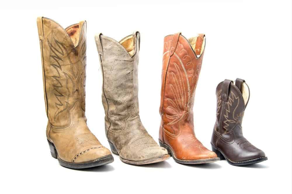 different height of cowboy boots