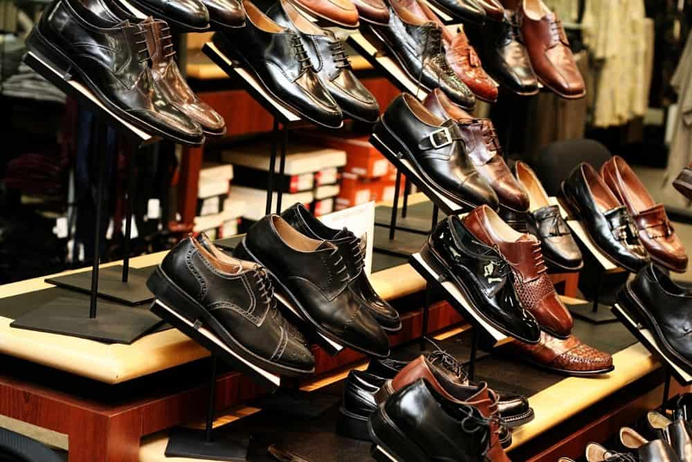 different types of dress shoes