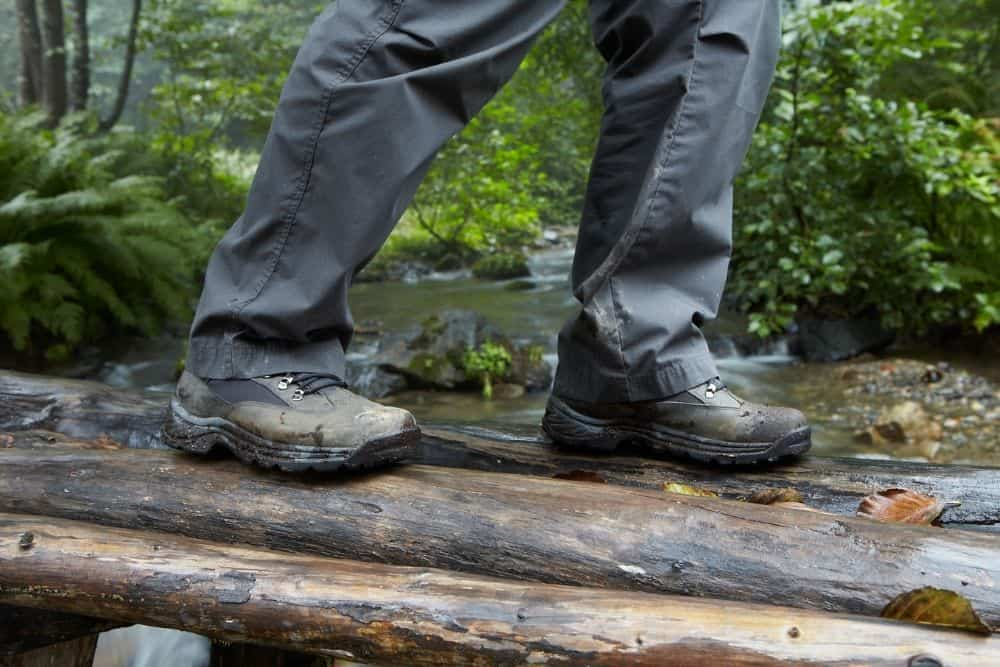 leaking hiking boots
