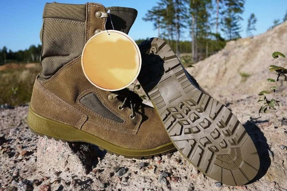 outsole of military boots
