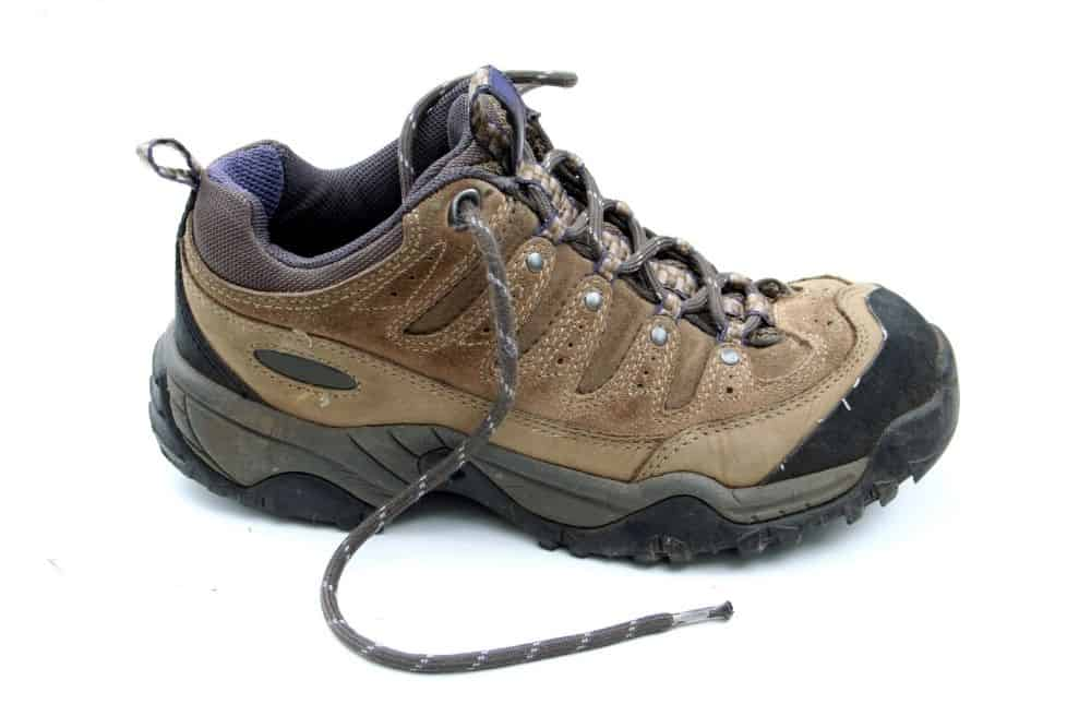 synthetic hiking boots