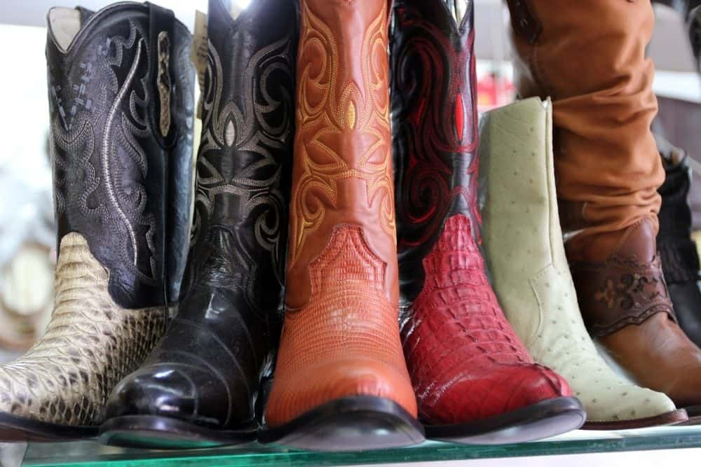 variations of cowboy boots