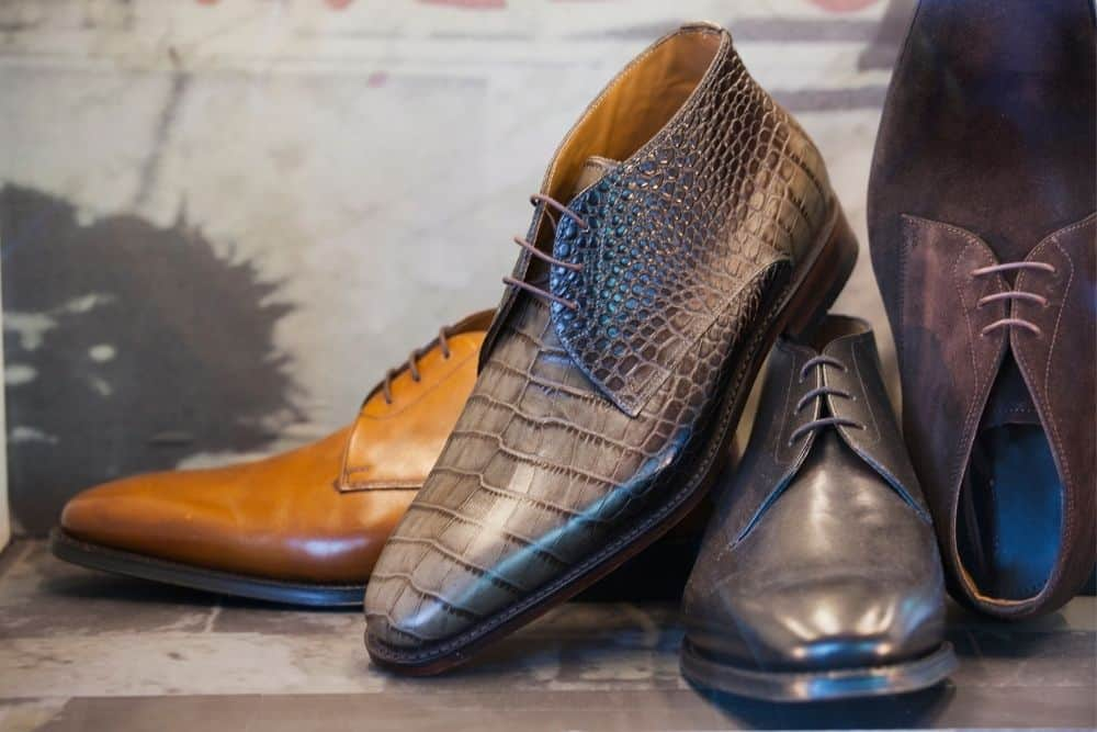 variations of dress shoes