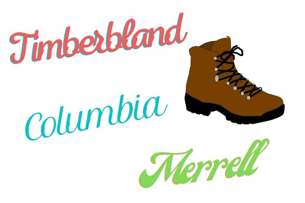 brands of hiking boots