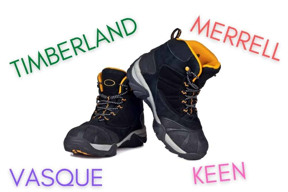 hiking boot brands with beautiful design